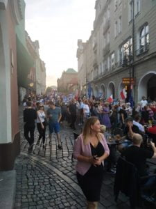 parada ko fot. k. adamska6 225x300 - Poznań: Burza przed ciszą, czyli przemarsz dla Rafała Trzaskowskiego