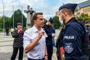 Plac Adama MIckiewicza 09.07.2020 fot. Sławek Wąchała