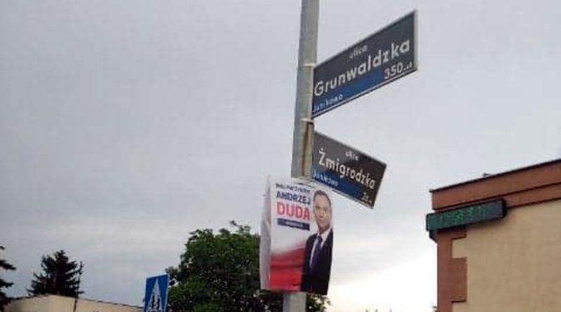 plakat wyborczy fot. FB J. Jaśkowiak