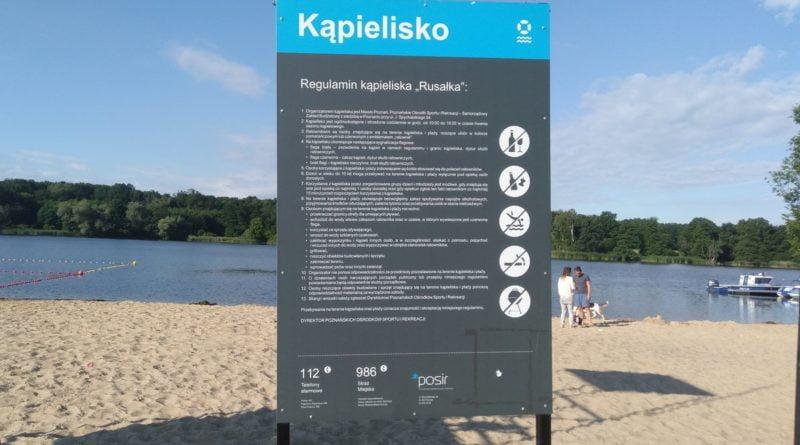plaża Rusałka, fot. Paulina