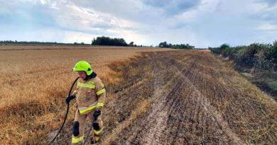 pożar fot. OSP Golina