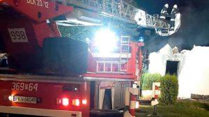 Sompolno: Pożar domu w miejscowości Biele
