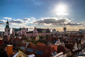 poznan fot. slawek wachala 4752 300x200 - Poznań: Na dachu ulicy Wielkiej