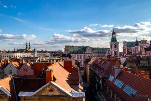poznan fot. slawek wachala 4759 300x200 - Poznań: Na dachu ulicy Wielkiej