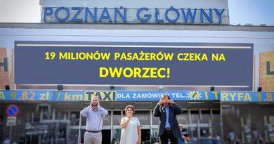 Poznań Główny fot. Inwestycje dla Poznania