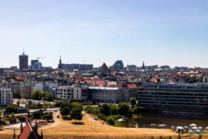 poznan z wiezy katedry 2019 fot. slawek wachala 8121 300x200 - Poznań: Widok z katedralnej wieży