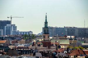 poznan z wiezy katedry 2019 fot. slawek wachala 8136 300x200 - Poznań: Widok z katedralnej wieży