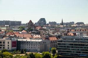 poznan z wiezy katedry 2019 fot. slawek wachala 8142 300x200 - Poznań: Widok z katedralnej wieży