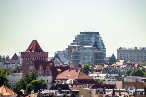 poznan z wiezy katedry 2019 fot. slawek wachala 8143 300x200 - Poznań: Widok z katedralnej wieży