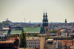 poznan z wiezy katedry 2019 fot. slawek wachala 8145 300x200 - Poznań: Widok z katedralnej wieży