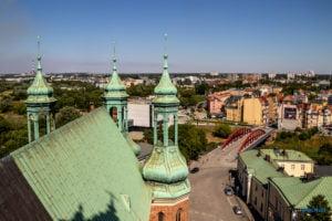 poznan z wiezy katedry 2019 fot. slawek wachala 8159 300x200 - Poznań: Widok z katedralnej wieży