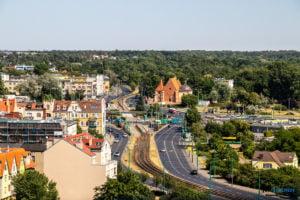 poznan z wiezy katedry 2019 fot. slawek wachala 8171 300x200 - Poznań: Widok z katedralnej wieży