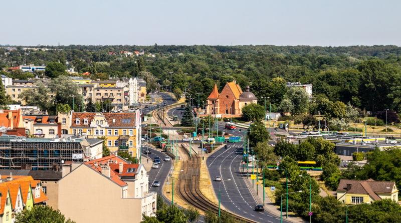 Poznań z wieży Katedry 2019 fot. Sławek Wąchała