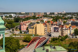 poznan z wiezy katedry 2019 fot. slawek wachala 8175 300x200 - Poznań: Widok z katedralnej wieży