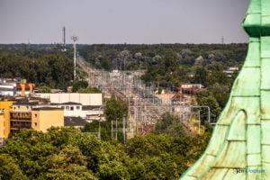 poznan z wiezy katedry 2019 fot. slawek wachala 8184 300x200 - Poznań: Widok z katedralnej wieży