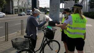 rowerzysci fot. smmp2 300x169 - Poznań: Straż miejska przypominała rowerzystom o bezpieczeństwie