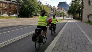 rowerzysci fot. smmp5 300x169 - Poznań: Straż miejska przypominała rowerzystom o bezpieczeństwie