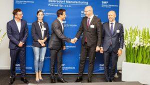 rozbudowa beiersdorf ag fot. wuw 300x169 - Poznań: Beiersdorf AG się rozbudowuje