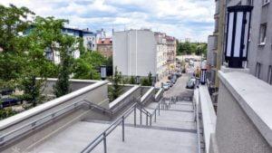 schody na spychalskiego fot. pim2 300x169 - Poznań: Koniec robót budowlanych na schodach przy Spychalskiego!