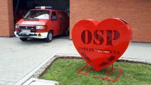 serce na gluszynie fot. osp gluszyna 300x169 - Poznań: Strażacy z Głuszyny zaczęli kolejną akcję. Z sercem!