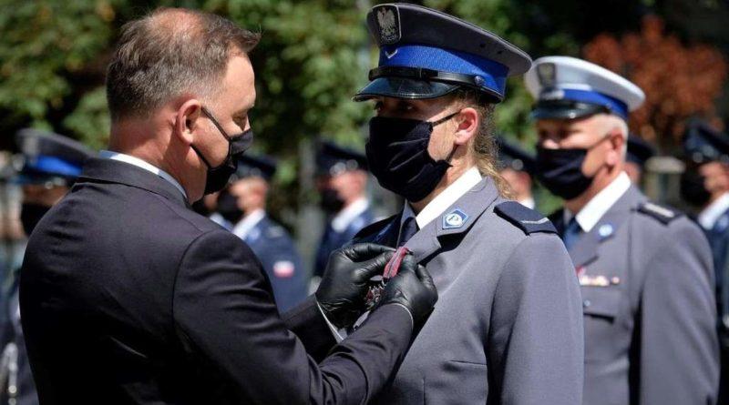 sierż. M. Wawrzyniak fot. policja