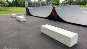 skate park fot. pim3 300x169 - Poznań: Rampa Malty i skatepark na osiedlu Tysiąclecia