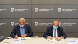 srodowiskowe centra pomocy psychicznej podpisanie umowy fot. umww.2 300x169 - Poznań: Powstanie kolejne środowiskowe centrum zdrowia psychicznego. Na północy miasta