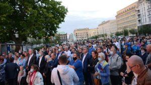sztab ko wybory prezydenckie fot. k. adamska 300x169 - Poznań: Wybory prezydenckie – w sztabach napięcie i nastrój wyczekiwania