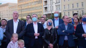 sztab ko wybory prezydenckie fot. k. adamska4 300x169 - Poznań: Wybory prezydenckie – w sztabach napięcie i nastrój wyczekiwania