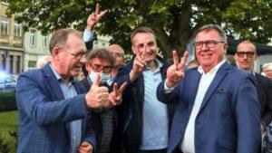 sztab ko wybory prezydenckie fot. s. wachala 300x169 - Poznań: Wybory prezydenckie – w sztabach napięcie i nastrój wyczekiwania