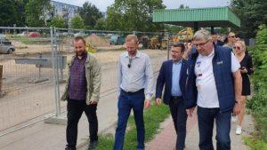 tramwaj na naramowice fot. ump5 300x169 - Poznań: Tramwaj na Naramowice - widać postęp prac