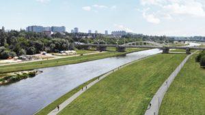 warta brzegi po remoncie fot. ump4 300x169 - Poznań: Rusza remont betonowych brzegów Warty