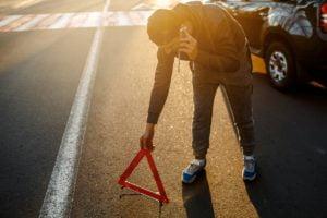 wypadek 2 fot. art. spon. 300x200 - Świadek kolizji lub wypadku drogowego - o czym trzeba pamiętać