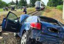 Poznań: Zderzenie samochodu z szynobusem. Jedna osoba ranna