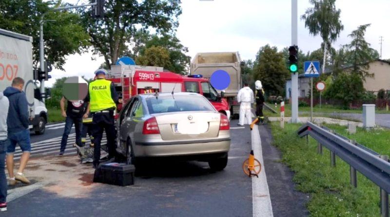 wypadek 2 fot. policja