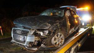 wypadek fot. osp kobyla gora4 300x169 - Ostrzeszów: Tragiczny wypadek - nie żyje 16-latka!
