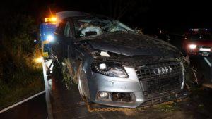 wypadek fot. osp kobyla gora5 300x169 - Ostrzeszów: Tragiczny wypadek - nie żyje 16-latka!