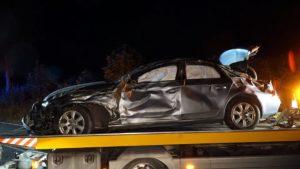 wypadek fot. osp kobyla gora6 300x169 - Ostrzeszów: Tragiczny wypadek - nie żyje 16-latka!