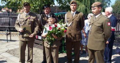 kapitan Joanna Kiąca-Fryczkowska - awans na majora fot. 12WOT