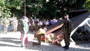 76. rocznica powstanie warszawskie 2 300x169 - Poznań: Obchody rocznicy Powstania Warszawskiego w kameralnej atmosferze