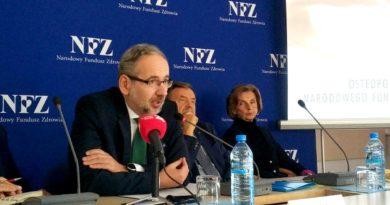 Adam Niedzielski fot. NFZ
