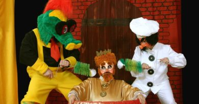Bajka o smoku i królu leniuchu fot. teatr Bajlandia