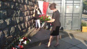 bitwa warszawska5 300x169 - Poznań: Kwiaty i znicze z okazji setnej rocznicy Bitwy Warszawskiej