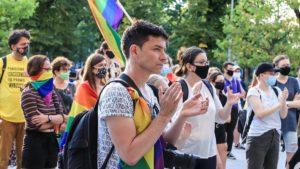 demonstracja przeciw przemocy fot. s. wachala 300x169 - Poznań: Wspólnie przeciwko przemocy