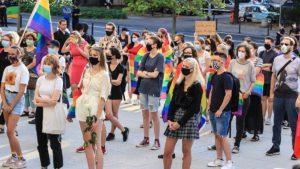 demonstracja przeciw przemocy fot. s. wachala6 300x169 - Poznań: Wspólnie przeciwko przemocy