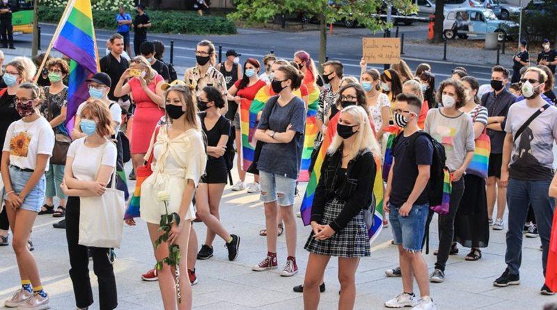 Demonstracja przeciw przemocy fot. S. Wąchała