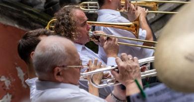 Happy Jazz Band - muzyka przy podwieczorku fot. Sławek Wąchała