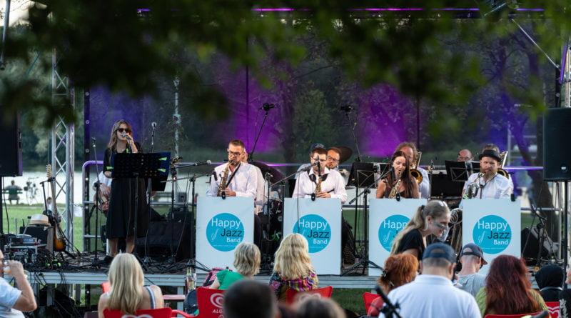 Happy Jazz Band nad Rusałką fot. Sławek Wąchała