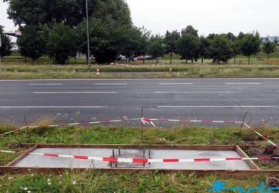 Poznań: Utrudnienia w ruchu na Hlonda. Z powodu montażu bramownicy