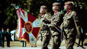kompania honorowa fot. dwot3 300x169 - Wielkopolscy terytorialsi na centralnych obchodach setnej rocznicy Bitwy Warszawskiej